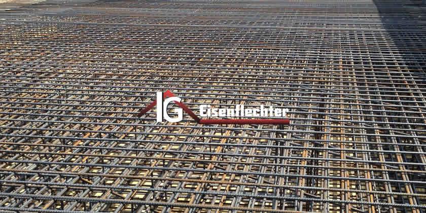 Baustahlverlegung, Eisenflechterei, Abbruch